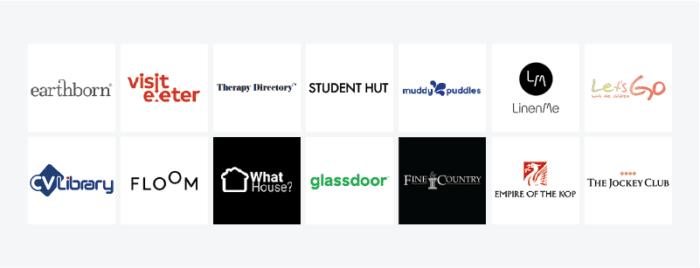 Glass Digital - Where We Built Links 2020 - complementary business logos