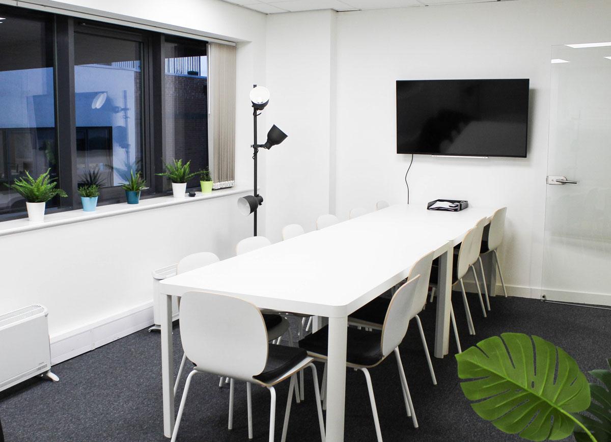 Glass Digital's staff room